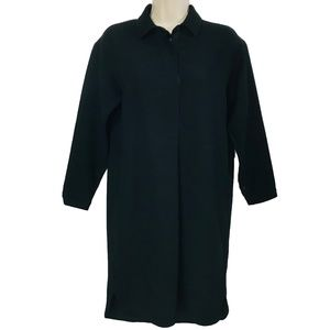 Madewell Black Tunic Shift Dress EUC